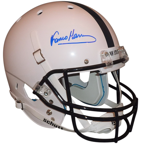 free shipping 2b516 6dbdb Franco Harris Autographed Penn State Nittany Lions Deluxe Full-Size Replica  Helmet