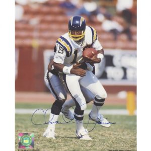 Charlie Joiner Autographed San Diego Chargers 8x10 Photo
