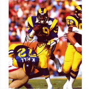 Eric Dickerson Autographed St. Louis Rams 8x10 Photo