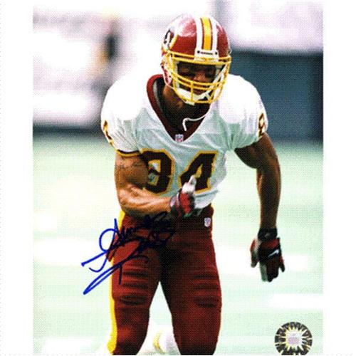 Andre Reed Autographed Washington Redskins 8x10 Photo