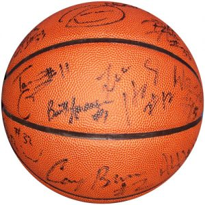 2005-06 Florida Gators Final Four Championship Team Autographed NCAA Basketball - 10 Signatures