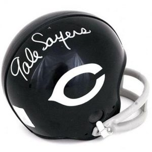 Gale Sayers Autographed Chicago Bears (Throwback) Mini Helmet