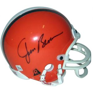 Jim Brown Autographed Cleveland Browns Mini Helmet