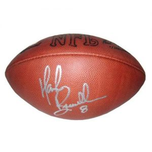 Mark Brunell Autographed NFL Game Football
