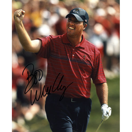 Boo Weekley Autographed (2008 Ryder Cup) 8x10 Photo