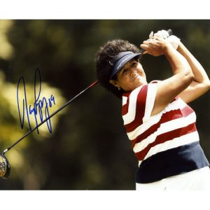 Nancy Lopez Autographed (Horiz) 8x10 Photo