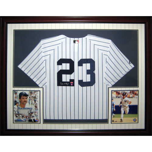 13df8139e Don Mattingly Autographed New York Yankees (Pinstripe #23) Deluxe ...
