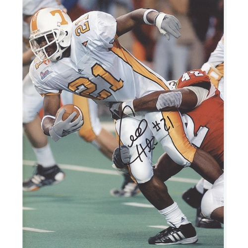 Cedric Houston Autographed Tennessee Volunteers (White Jersey) 8x10 Photo