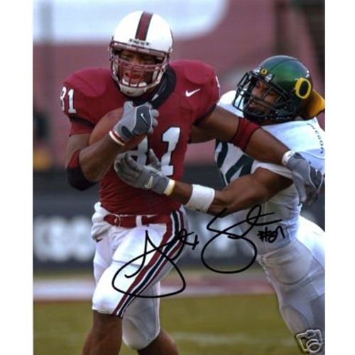 Alex Smith Autographed Stanford Cardinal (Red Jersey) 8x10 Photo