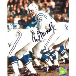Earl Morrall Autographed Indianapolis Colts 8x10 Photo