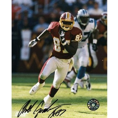 Rod Gardner Autographed Washington Redskins (vs Panthers) 8x10 Photo