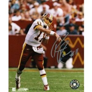 Patrick Ramsey Autographed Washington Redskins (Throwing Ball) 8x10 Photo