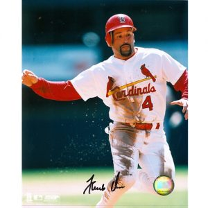 Fernando Vina Autographed St. Louis Cardinals (Sliding) 8x10 Photo