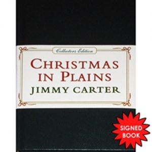 President Jimmy Carter Autographed (Christmas in Plains) Book