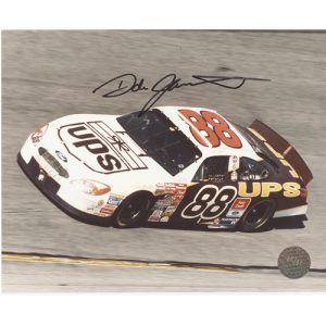 Dale Jarrett Autographed UPS (Car) 8x10 Photo