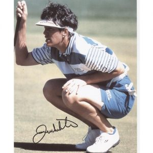 Juli Inkster Autographed (Reading Green) 8x10 Photo