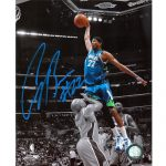Corey Brewer Autographed Minnesota Timberwolves (Spotlight Dunk vs Fisher) 8×10 Photo