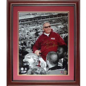 "Bobby Bowden Autographed Florida State FSU Seminoles (Last Game ""Spotlight"") Deluxe Framed 16x20 Photo"