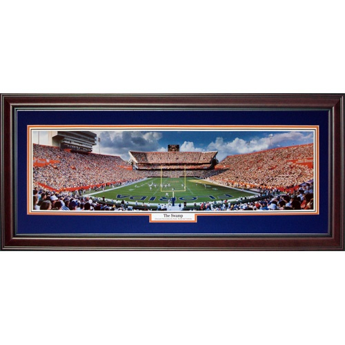 University of Florida Gators (The Swamp) Deluxe Framed Panoramic Photo