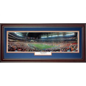University of Florida Gators (Gators Triumph - 2007 BCS Championship) Deluxe Framed Panoramic Photo