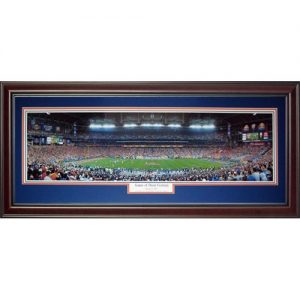 University of Florida Gators (Game of their Century - 2007 BCS Championship) Deluxe Framed Panoramic Photo