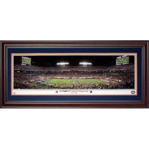 University of Florida Gators (2009 BCS Championship) Deluxe Framed Panoramic Photo