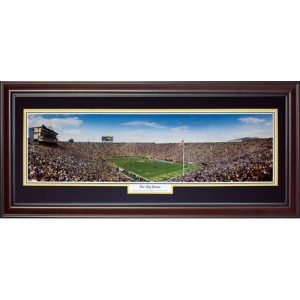 University of Michigan Wolverines (The Big House) Deluxe Framed Panoramic Photo