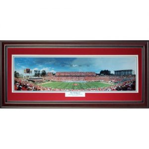 North Carolina State Wolfpack (The Wolfpack) Deluxe Framed Panoramic Photo