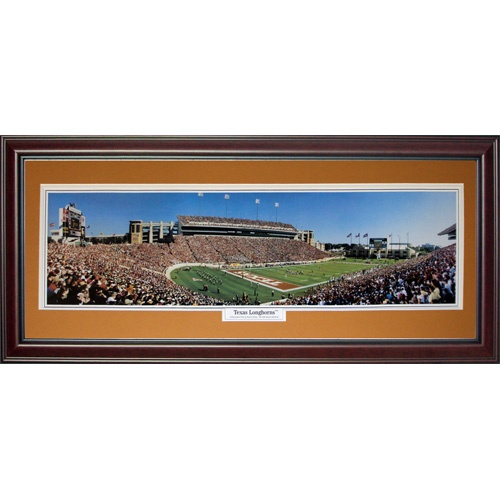 University of Texas Longhorns (Longhorns) Deluxe Framed Panoramic Photo