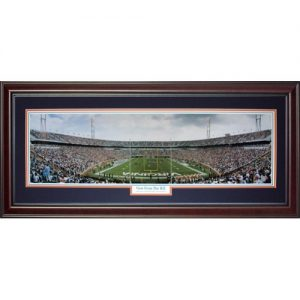 University of Virginia Cavaliers (View From The Hill) Deluxe Framed Panoramic Photo