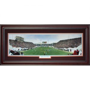 Virginia Tech University Hokies (Virginia Tech Hokies) Deluxe Framed Panoramic Photo