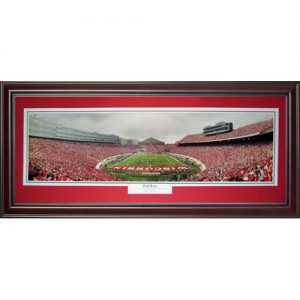 University of Wisconsin Badgers (End Zone) Deluxe Framed Panoramic Photo