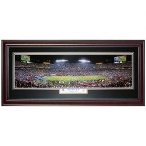 New Orleans Saints (Super Bowl XLIV) Deluxe Framed Panoramic Photo