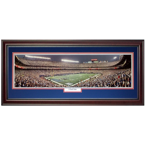 New York Giants 6 Yard Line Deluxe Framed Panoramic Photo