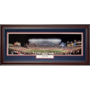 New England Patriots (Banner Night - Opening Night 2005) Deluxe Framed Panoramic Photo