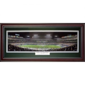 New York Jets (Rivalry at the Meadowlands) Deluxe Framed Panoramic Photo