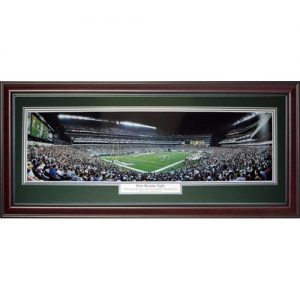 Philadelphia Eagles (First Monday Night) Deluxe Framed Panoramic Photo
