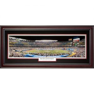 Tampa Bay Buccaneers (Super Bowl XXXVII Champions) Deluxe Framed Panoramic Photo
