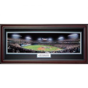 Florida Marlins (1997 World Series Champions) Deluxe Framed Panoramic Photo