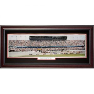 Daytona International Speedway (The Great American Race) Deluxe Framed Panoramic Photo