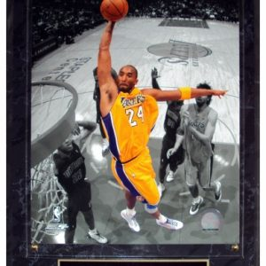 Kobe Bryant Los Angeles Lakers (Spotlight) Licensed 8x10 Photo Plaque