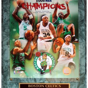 Boston Celtics (2008 NBA Champions Composite) Licensed 8x10 Photo Plaque