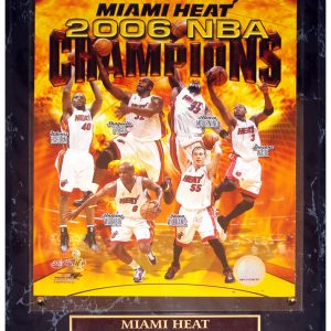 Miami Heat (2006 NBA Champions Composite) Licensed 8x10 Photo Plaque