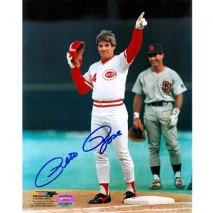 Pete Rose Autographed Cincinnati Reds (4192 Hit) 8x10 Photo