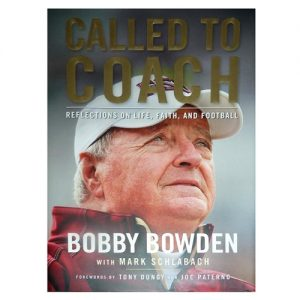 Bobby Bowden Autographed (Called To Coach) Limited Edition Book