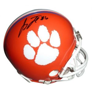 Jacoby Ford Autographed Clemson Tigers Mini Helmet