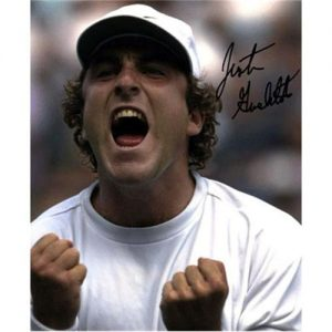Justin Gimelstob Autographed Tennis 8x10 Photo