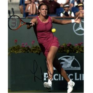 Lindsay Davenport Autographed Tennis 8x10 Photo