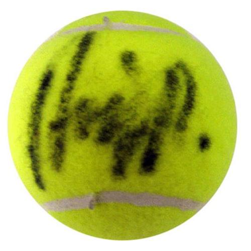 Andy Roddick Autographed Tennis Ball