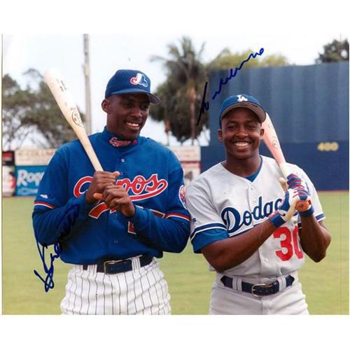 Vladimir and Wilton Guerrero Dual Autographed (Expos / Dodgers) 8x10 Photo
